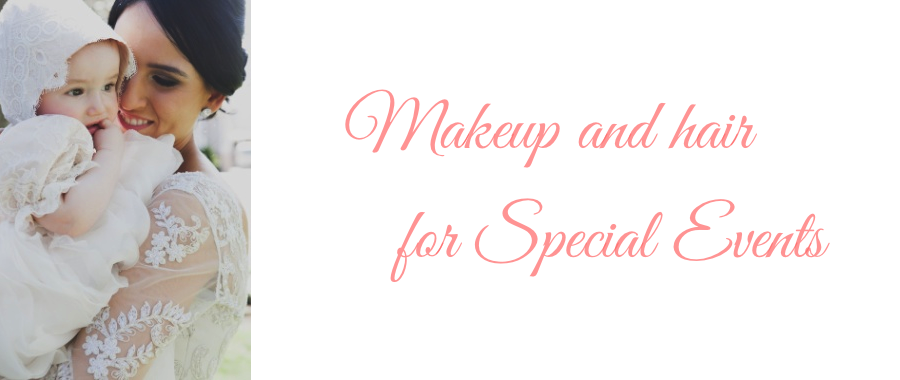 Makeup and Hair for Special Events